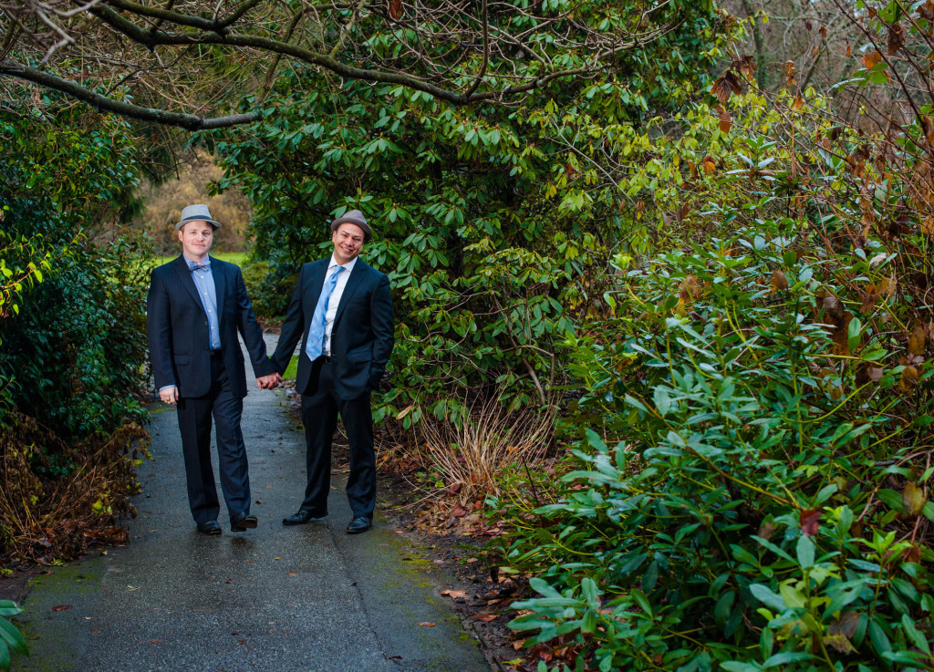 Carson & Hector Wedding - Stanley Park, Vancouver BC