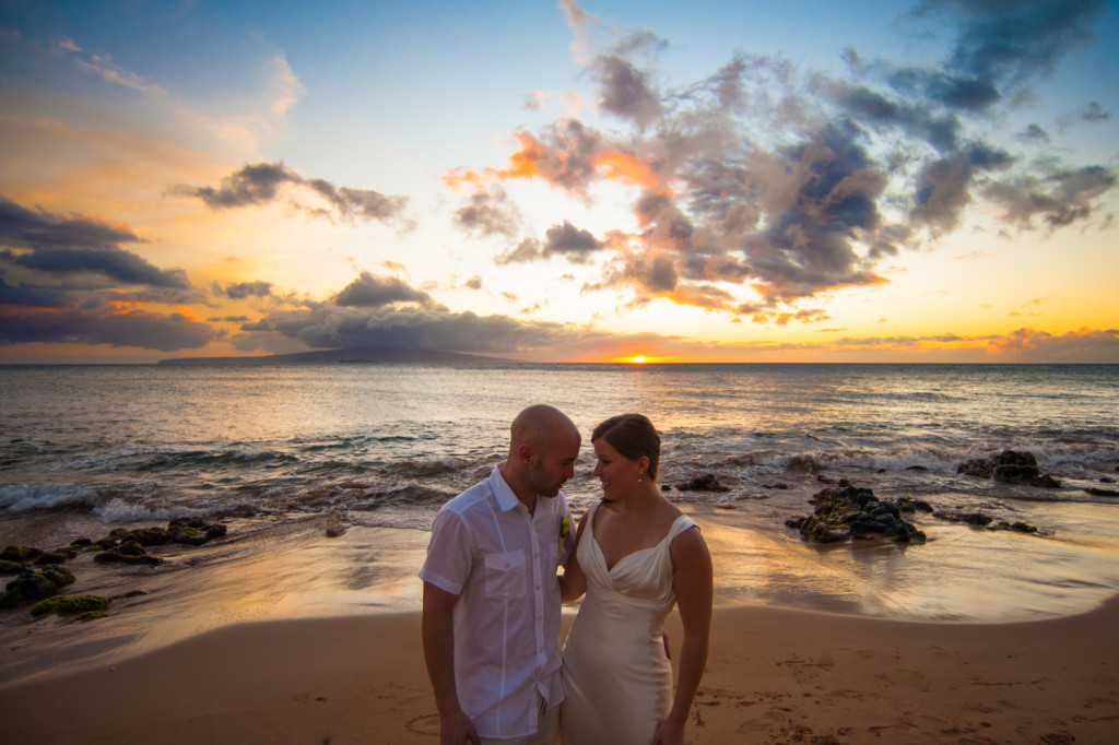 Eric & Liz's Wedding Photography from Maui - Vancouver Photographer